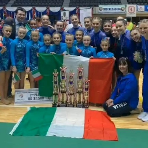 2° al mondo in cheerdance senior PIRCHIO VALENTINA :-)